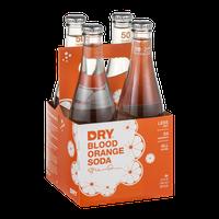 DRY Blood Orange Soda - 4 CT