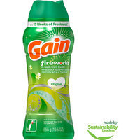 Gain Fireworks In Wash Original Scent Booster Laundry Beads, 19.5 oz