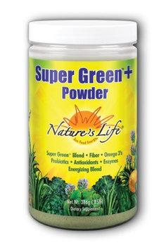 Super Green Plus Vanilla Nature's Life 300 g Powder