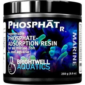 Mojetto Brightwell Aquatics ABAPHOR175 Phosphat-R Resin Filter Media for Aquarium, 5.9-Ounce