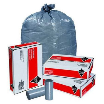 TOUGH GUY 5XL54 Trash Bags,30 gal,0.50 mil, PK250