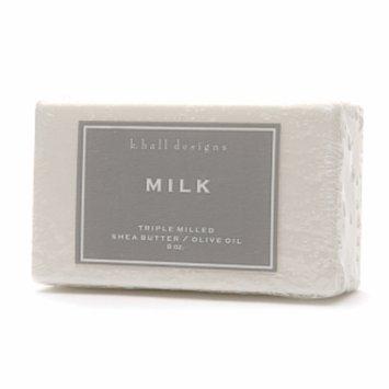 k. hall designs Shea Butter/Olive Oil Triple Milled Bar Soap