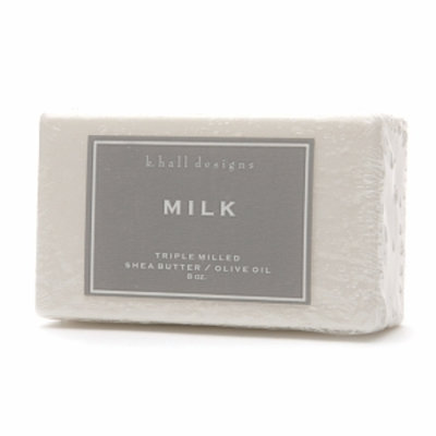 k. hall designs Shea Butter/Olive Oil Triple Milled Bar Soap