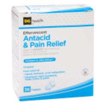 Dg Health DG Health Antacid & Pain Relief - Effervescent Tablets, 36 ct