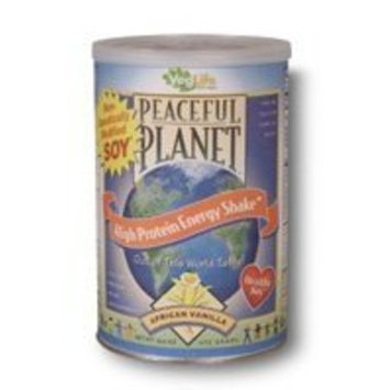 VegLife - Peaceful Planet High Protein Shake-African Vanilla - 16.6 oz