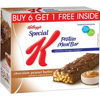Special K Kellogg's  Chocolate Peanut Butter Protein Meal Bars