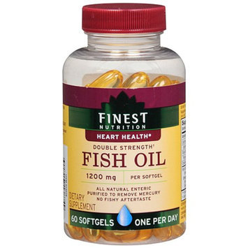 Finest Nutrition Fish Oil 1200 mg Dietary Supplement Softgels