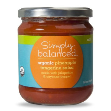 Simply Balanced Tangerine Pineapple Mild Salsa 16oz