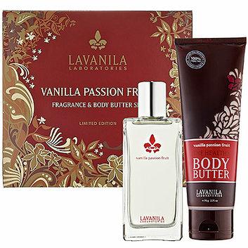 LAVANILA Vanilla Passion Fruit Fragrance & Body Butter Set