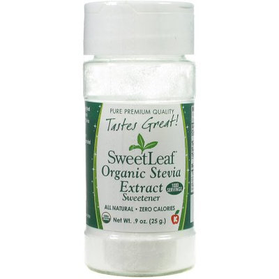 Generic SweetLeaf Organic Stevia Extract Sweetener, 9 oz
