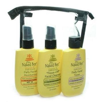 The Naked Bee Cleanser/Toner/Moist Facial Kit