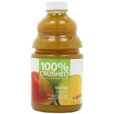 Dr. Smoothie Mango Tropics 100% Crushed Fruit Smoothie Concentrate 46oz. 3 pack