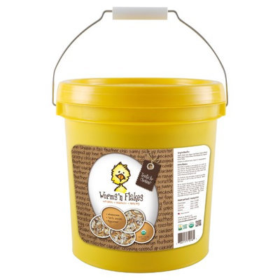 Treats For Chickens Llc Treats For Chickens Worms'n Flakes, Size: 5 lb. Bucket