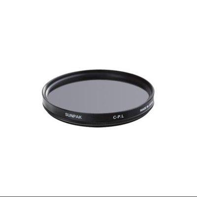 Sunpak 40.5mm Circular Polarizer Glass Filter