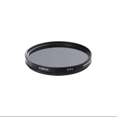 Sunpak 40.5mm Circular Polarizer Glass Filter