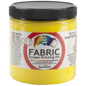 Speedball Fabric Screen Printing Ink 8 oz. jar yellow