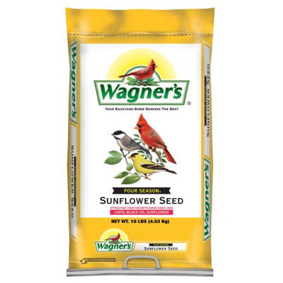 Wagner's Wildlife Food 10 lb. Four Season Sunflower Seed 25024