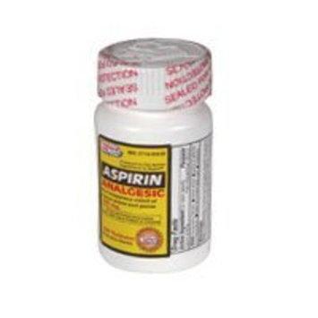 Kpp Aspirin Analgesic Tablets 325 Mg - 100 Ea