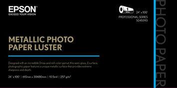 Epson S045593 Metallic Luster Photo Paper, 24