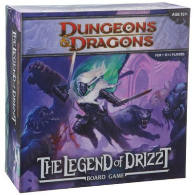 Wizards of the Coast Wizards of The Coast Legend of Drizzt: A Dungeons and Dragons Board Game