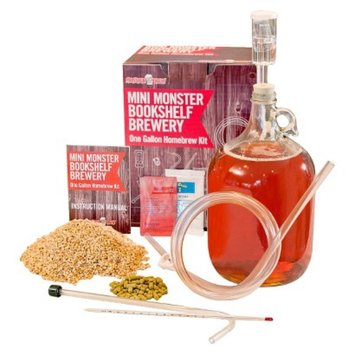 Monster Brew Mini Monster Homebrew Kit with American Wheat Beer Recipe