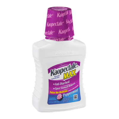 Kaopectate Max Upset Stomach Reliever Peppermint