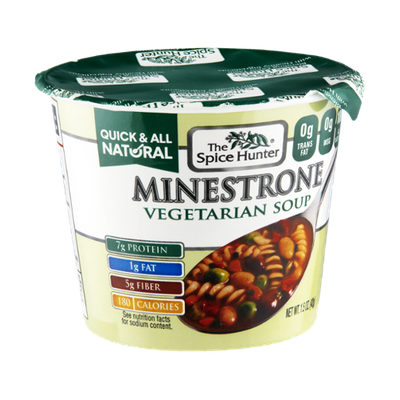 The Spice Hunter Minestrone Vegetarian Soup