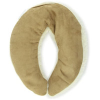Herbal Concepts Neck Wrap, Faux Suede and Faux Shearling