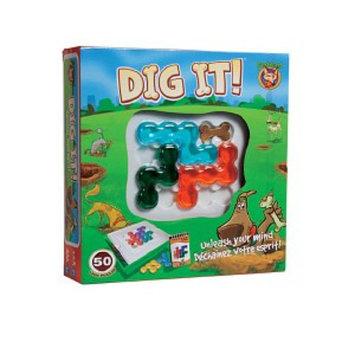 FoxMind Games Dig It Ages 8+, 1 ea