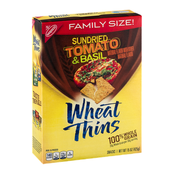 Nabisco Wheat Thins Sundried Tomato & Basil