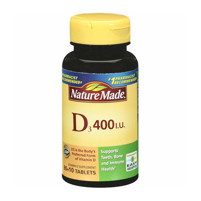 Nature Made D3 Tablets
