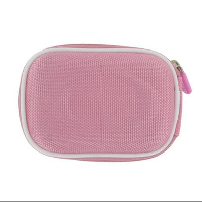 rooCASE Nylon Hard Shell (Pink) Carrying Case with Memory Foam for Kodak EasyShare C195 Digital Camera