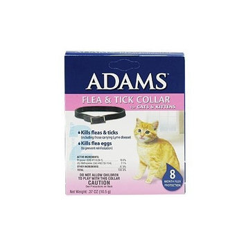 Adams Flea and Tick Collar for Cats and Kittens