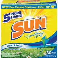 Sun Ultra Clean & Fresh Laundry Detergent With sational Scents