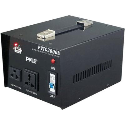 Pyle-meters PYLE-METERS PVTC3000U Step Up & Step Down Voltage Converter Trans.