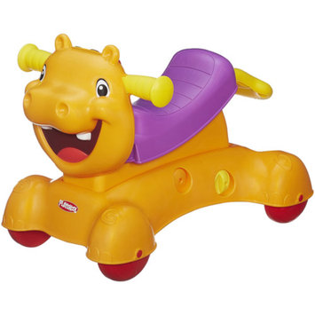 Playskool Rock, Ride, n Stride Hippo Toy