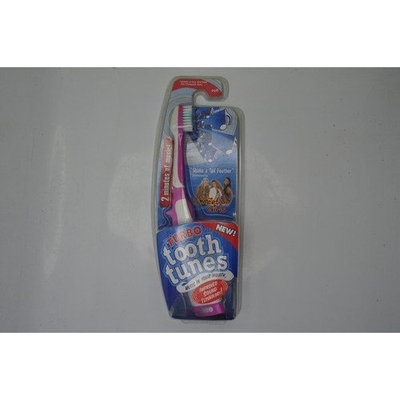 Turbo Tooth Tunes Battery Powered Toothbrush, CG