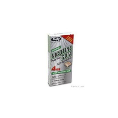 Rugby Nicotine Gum (4mg) Mint - 20 Pieces