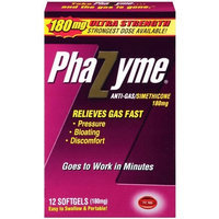 Phazyme Ultra Strength Gas Relief, 12 Softgels