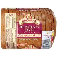 Oroweat Sliced Bread 16oz - 24oz Loaf (Pack of 2) Choose Flavor Below (Russian Rye 16oz)