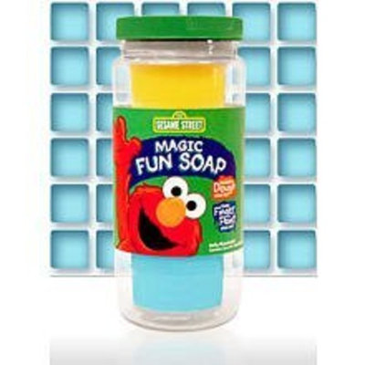 Sesame Street Magic Fun Soap - 2 in 1 Fun!