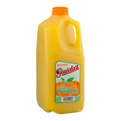 Guida's 100% Pure-Squeezed Orange Juice From Concentrate