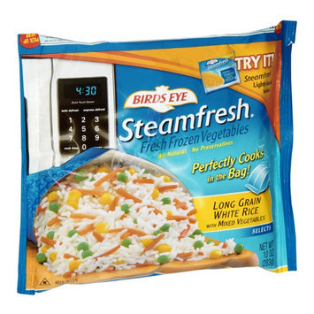 Birds Eye Steamfresh Long Grain White Rice with Mixed Vegetables