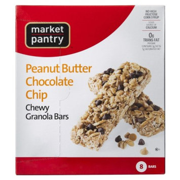 Market Pantry Peanut Butter Chocolate Chip Chewy Granola Bars