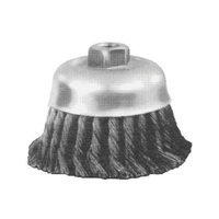 Advance Brush Standard Twist Single Row Cup Brushes - 4