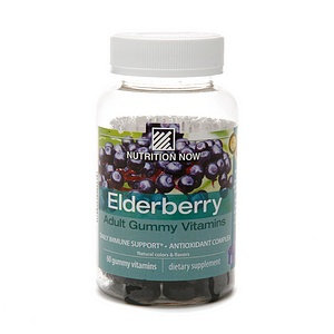 Nutrition Now Elderberry Gummy Vitamins