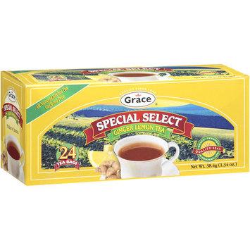 Grace Special Select Ginger Lemon Tea Bags, 1.34 oz