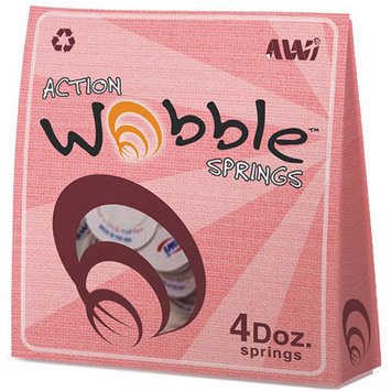 Action Wobble Springs - 48 Per Pack