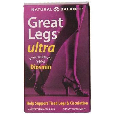 Natural Balance Great Legs Ultra Veg Capsules, 60 Count