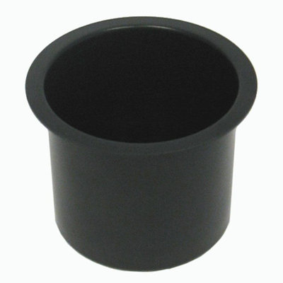 Trademark Commerce Trademark Poker Jumbo Aluminum BLACK Poker Table Cup Holder